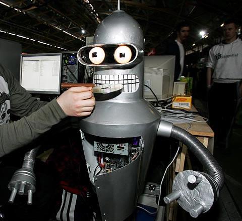 Сколько ест робот?